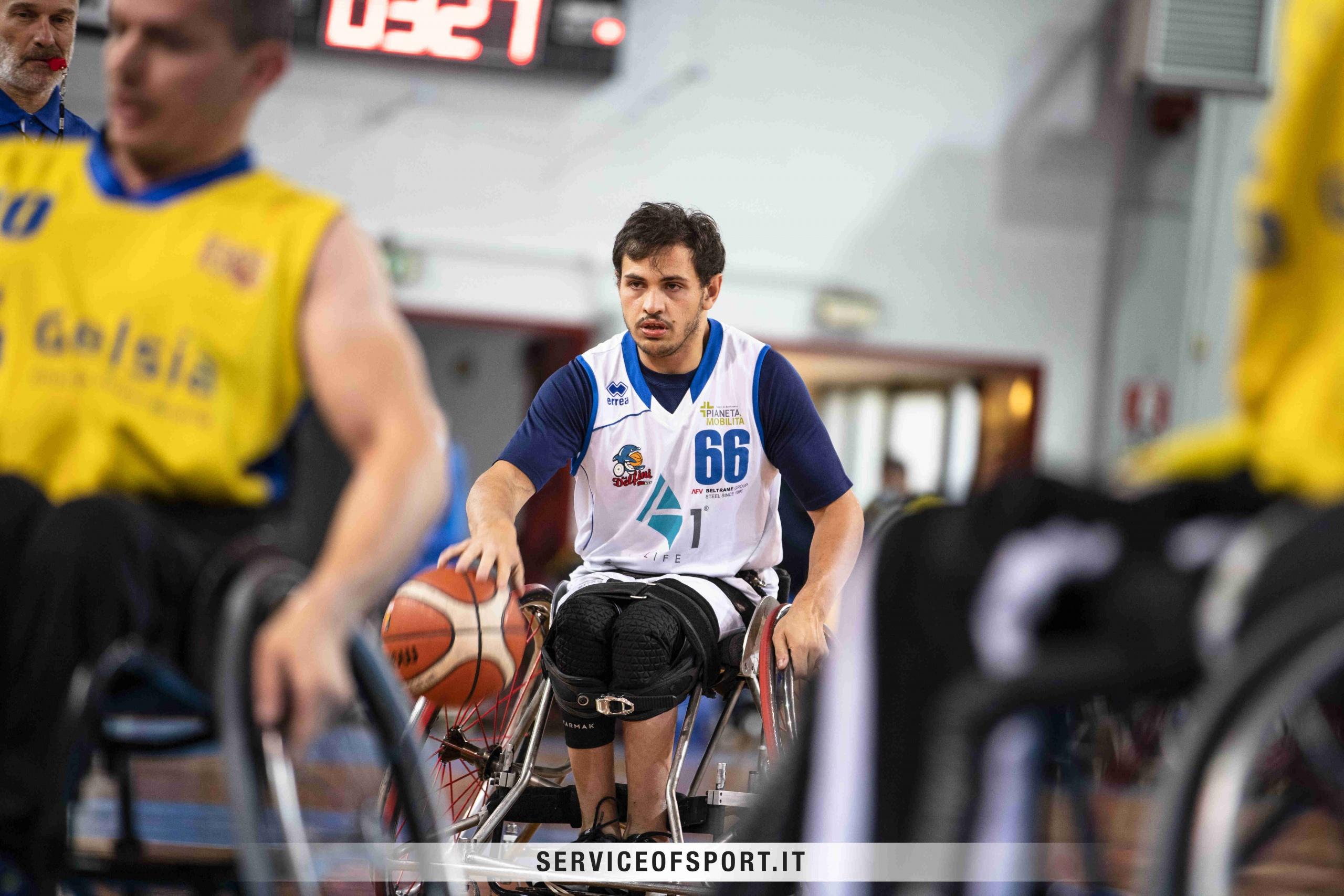 Service of Sport - Basket in carrozzina